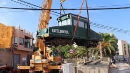 El pasado viernes, con motivo del 125 aniversario de la llegada del trenet en Rafelbunyol, se inauguró la reposición del Tractor 4