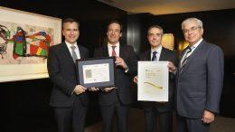 CaixaBank renueva el Sello de Excelencia Europea EFQM 500+ que certifica la excelencia en la calidad de la gestión y el servicio a los clientes