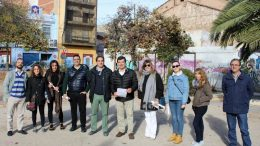 """Cabanyal-Canyamelar, Giner: """"Nuestro compromiso es que en 2019 estará el centro de jóvenes y el centro de servicios sociales """""""