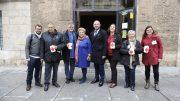La Diputación colabora en el Día de la Banderita de Cruz Roja a favor de la infancia y la juventud