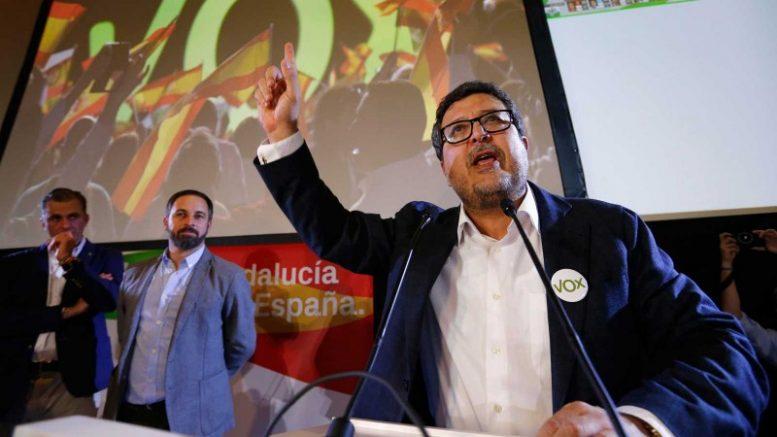 Voxha irrumpido con fuerza en el Parlamento de Andalucía con12 escañosobtenidos en unas elecciones históricas