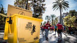 Maratón Valencia y Ecoembes reciclan juntos más de 15 toneladas de residuos