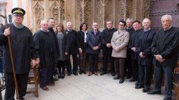 El alcalde de Alboraya visita el Tribunal de las Aguas