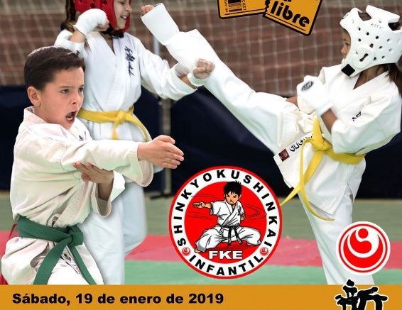 El campeonato infantil de Kárate en Alzira