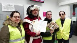 Los Reyes Magos Castigan con carbón a Ribó por culpa de la ZAS del Carmen