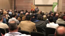 VOV Valencia no apoya candidaturas. En la imagen José María Llanos presidente de Vox Valencia