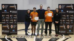 One Team VII Jornada X, entrega de diplomas Valencia Basket ha cerrado esta tarde con su séptimo proyecto