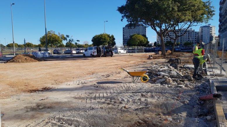 Empiezan las obras del nuevo parque adaptado inclusivo para todos los niños
