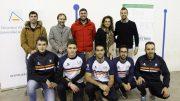 El equipo de pilota valenciana de la Universidad de Alicante jugará como local en el trinquet de Petrer
