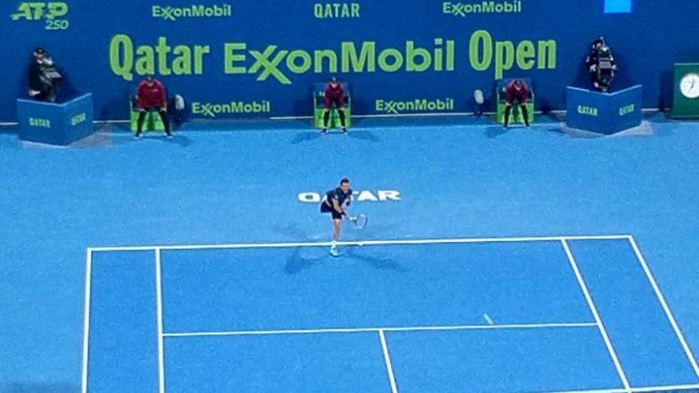 Roberto Bautista Agut remonta el set advers inicial i demà jugarà la final del Qatar ExxonMobil Open - Foto Paco Tarazona Enviat especil en Doha