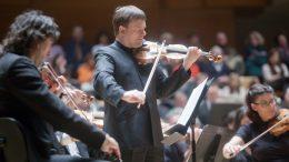 Zimmermann y la Orquesta de Valencia interpretan el Concierto para Violín de Mendelssohn