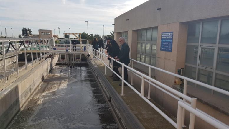 El alcalde de Alboraya visita la depuradora de la cuenca del Carraixet