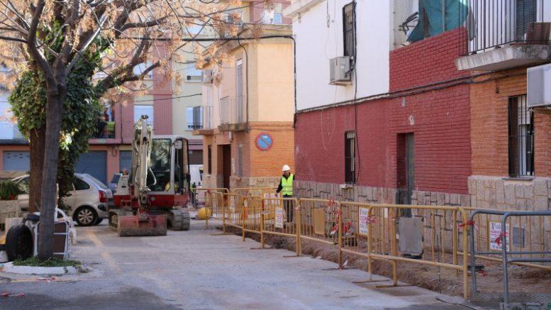 El barrio Virgen de la Paloma renueva su imagen