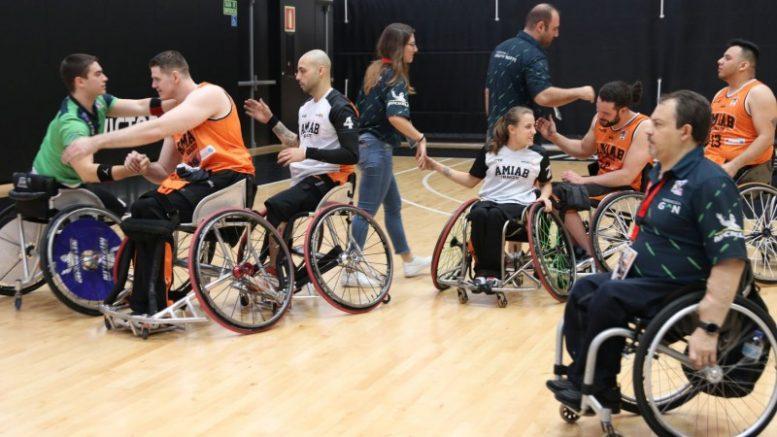 Gran jornada de baloncesto la vivida en L'Alqueria del Basket con la 41ª Copa del Rey de Baloncesto en Silla de Ruedas en la instalación