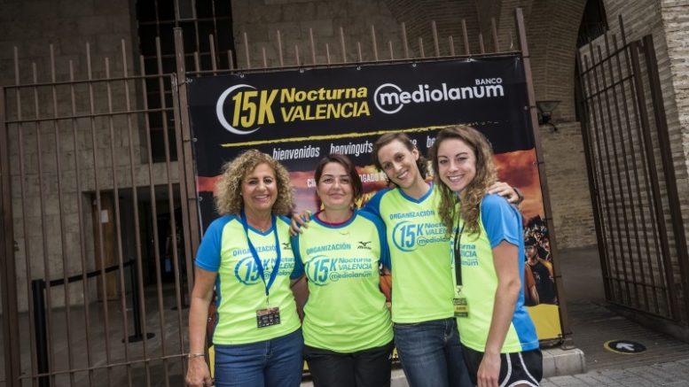 La 15K Nocturna Valencia Banco Mediolanum comienza la búsqueda de voluntarios para el próximo 8 de junio