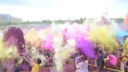 La carrera de colores Holi Life regresa a Valencia con una zona de actividades donde disfrutar con más horas de diversión