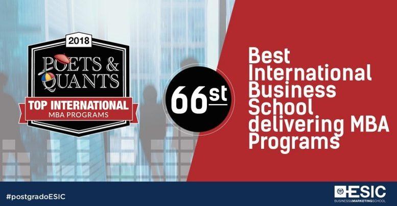 Esic entre las mejores escuelas de negocios del mundo