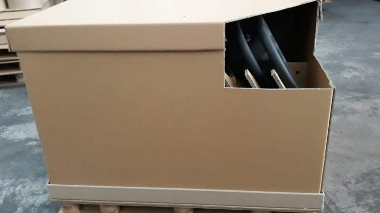 Upalet incrementa un 92% la capacidad de transporte de volantes con un box para automoción
