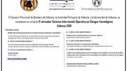 Valencia acoge el VI Workshop sobre respuesta ante emergencias por riesgos tecnológicos