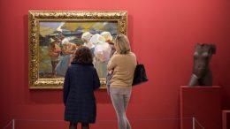 La Diputación abre sus puertas con obras de Sorolla, Kandinski, Genovés y Miró