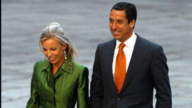 Eduardo Zaplana y su esposa