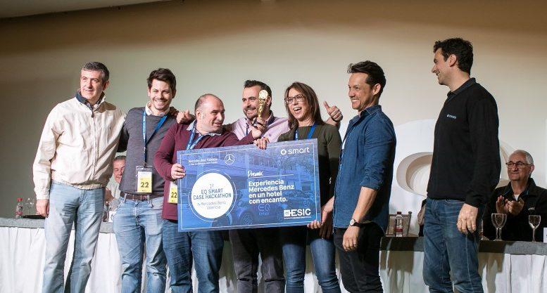 Esic y Mercedes Benz celebran el primer Case Hackthon en Valencia