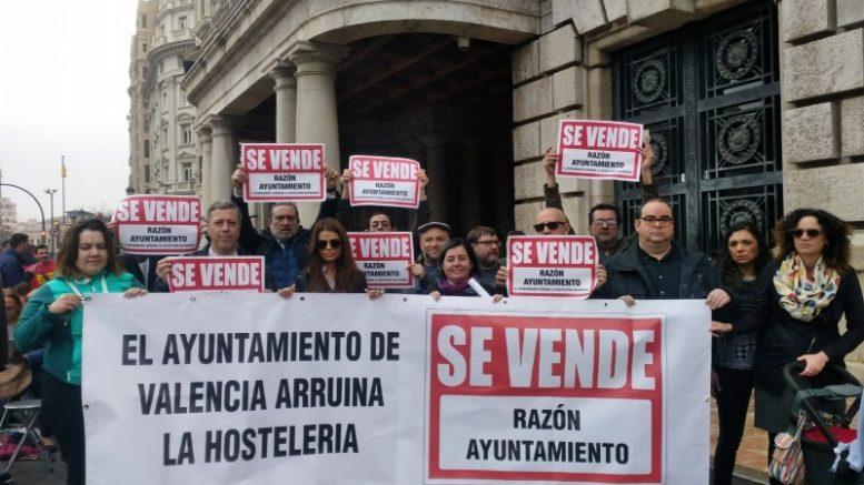 Las ZAS de Valencia han costado a la hostelería la pérdida de más de 2000 empleos