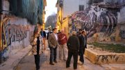 Fernando Giner denuncia el abandono del jardín de Nino Bravo y del entorno del mercado San Pedro Nolasco de Zaidia