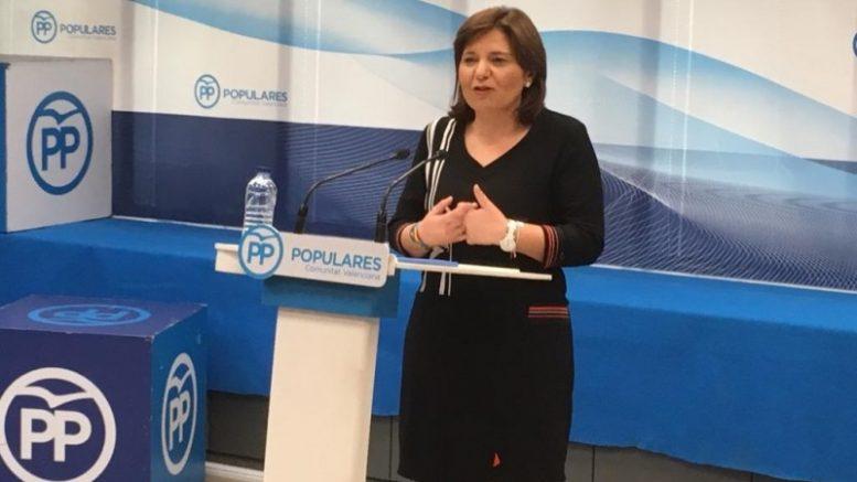 Isabel Bonig plantea a Ximo Puig un debate 'cara a cara'