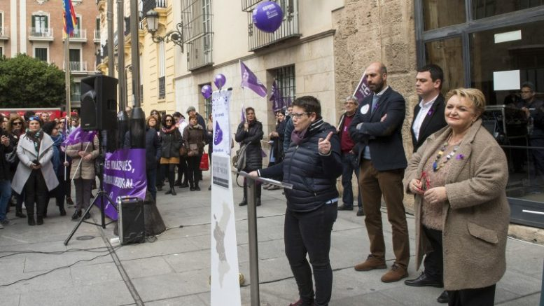 La Diputació se suma al paro del 8 de marzo contra la desigualdad de género