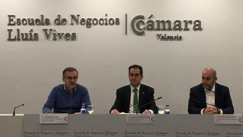 La Cámara de Comercio de Valencia, el IVACE e Iberdrola organizan una jornada sobre autoconsumo y movilidad eléctrica