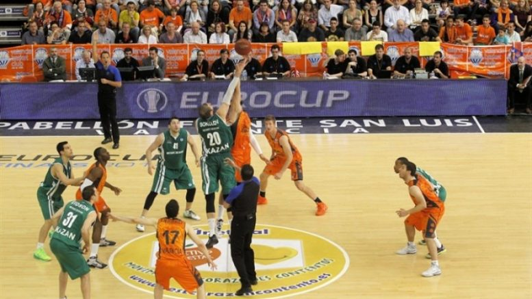 Valencia Basket- Unics Kazan: un duelo de alto voltaje