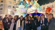 Na Jornada y el CEU introducen en las fiestas falleras a estudiantes internacionales de más de 80 países
