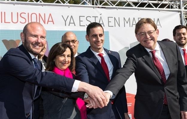 Bielsa esconde el coste de la visita de la ministra Margarita Robles a Mislata